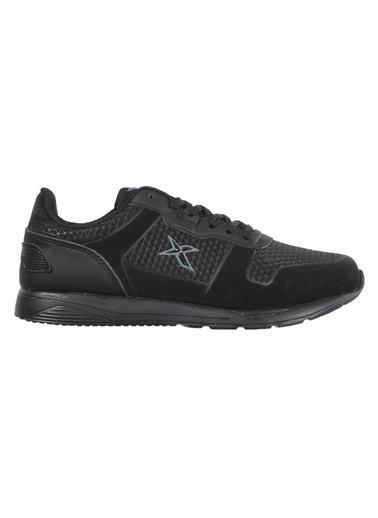Kinetix Kınetıx Morgan M 9Pr Siyah-Siyah Kadın Spor Ayakkabı Siyah